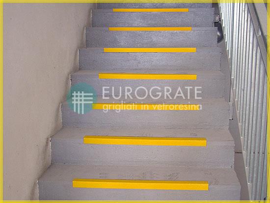 Cantoneras de seguridad aplicadas a escaleras industriales