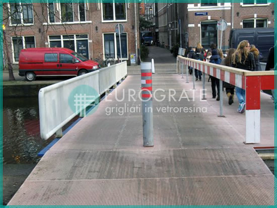 pavimentos, vallados y barandillas de seguridad de fibra de vidrio