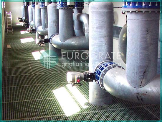 rejillas para depuradoras industriales