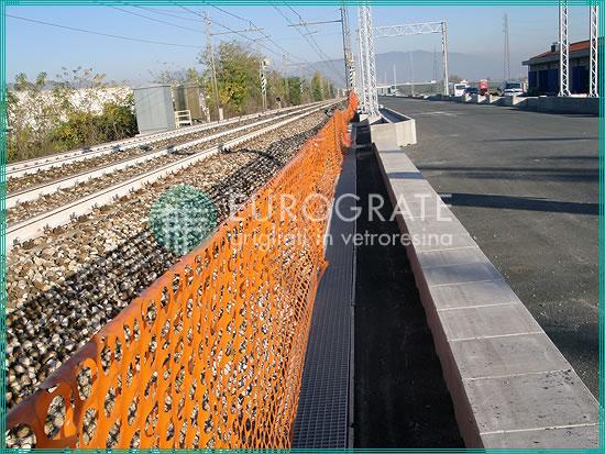 vallados, cubre zanjas, sumideros y arquetas para el sector ferroviario