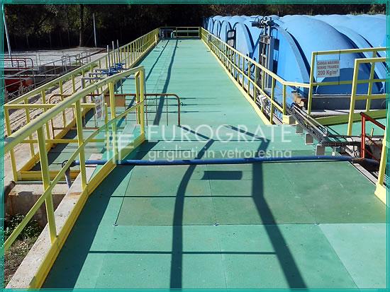 barandillas de seguridad utilizadas en varios sectores industriales
