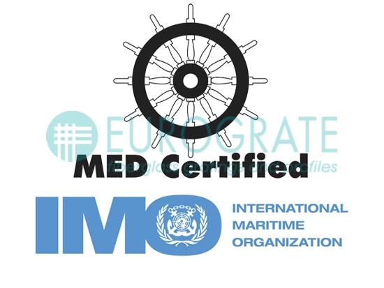Eurograte Rejillas IMO Conforme Módulo B y D Número Certificado: 0987