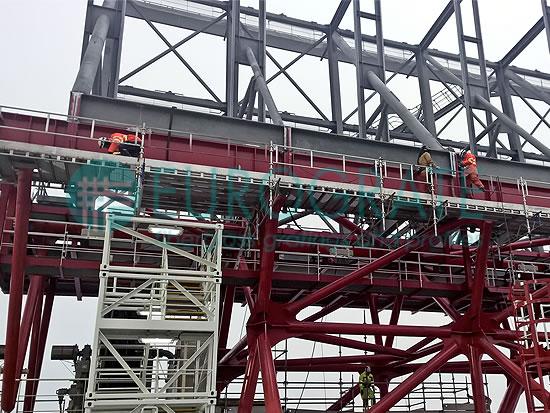 estructuras autoportantes utilizadas en la industria de alta mar