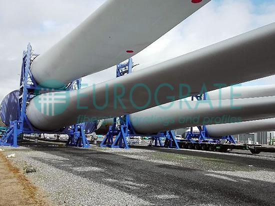 estructuras autoportantes de soporte para turbinas eólicas