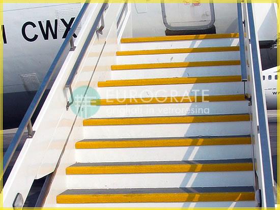 Cubre peldaños para escaleras de aviones