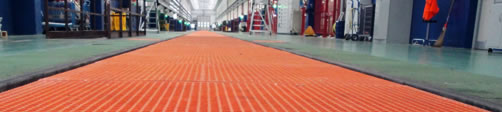 tramex de PRFV y productos de fibra de vidrio para uso industrial y civil