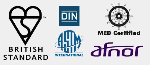 productos de PRFV certificados y garantizados 30 años