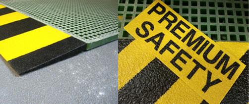 productos de seguridad: barandillas de seguridad, cantoneras de seguridad, cubre travesaños, laminados de fibra de vidrio