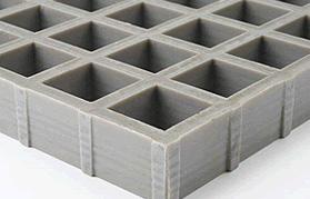 Rejillas antideslizantes cóncavas con superficie antideslizante estándar