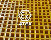 Rejillas ATEX antiestáticas