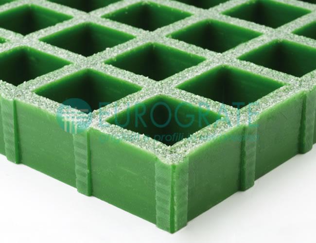 Rejilla con resina isoftálica de alta calidad