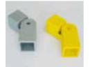 Barandillas de seguridad conexión articulada pasamanos