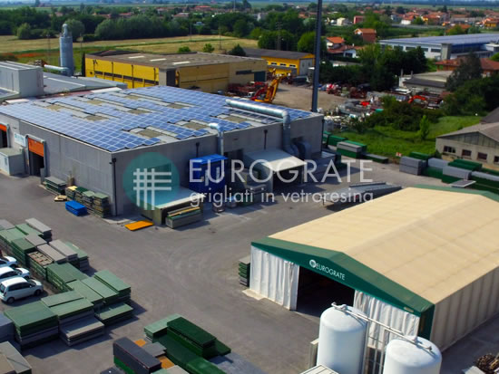 fabricación de vallados industriales con establecimiento en Italia