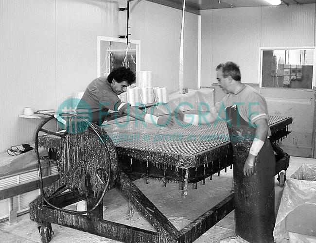 fabricante de vallados industriales de rejilla mediante un proceso de producción diferente al de la competencia