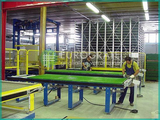 fabricación de paneles de rejilla a la medida