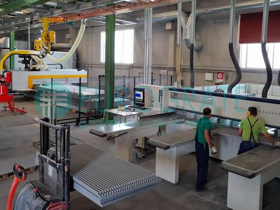 fabricación personalizada de rejillas, perfiles y vallados
