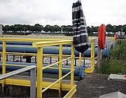 Comprobación de la instalación de las barandillas de seguridad