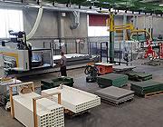 Máquina de fabricación de rejillas de control numérico: 5 ejes