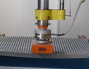 Comprueba la flexión y la resistencia mecánica de la rejilla a la rotura